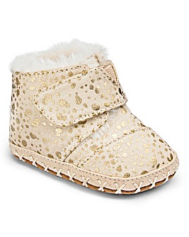 Toms Baby Foil Snow Spot Slippers