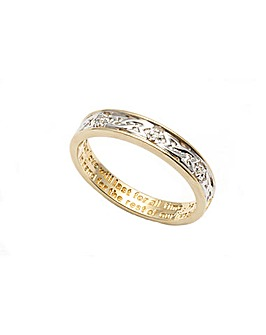 9ct Together Forever Diamond Ring