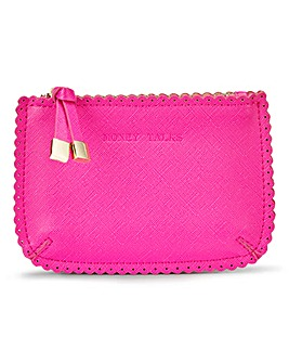 Hot Pink Slogan Purse