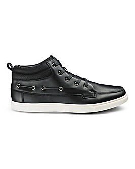 Hi Top Boat Shoes Standard Fit