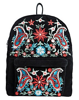 Pieces Jessica Embroidered Backpack