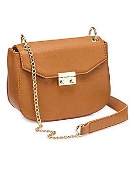 Charlotte Tan Saddle Bag