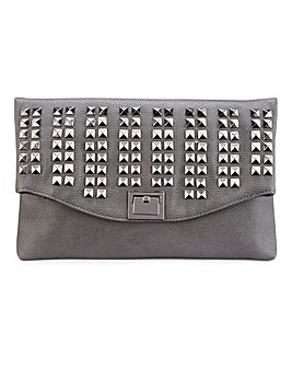 Kate Studded Clutch Bag