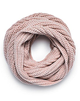 Joanna Hope Sparkle Lurex Snood