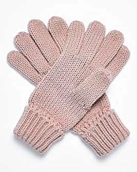 Joanna Hope Sparkle Lurex Gloves