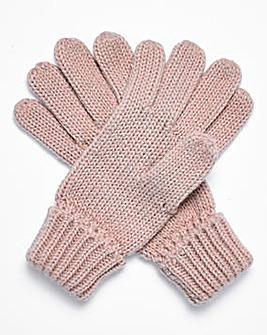 Joanna Hope Sparkle Lurex Gloves