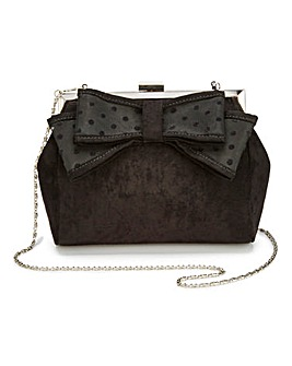 Claire Bow Clutch Bag