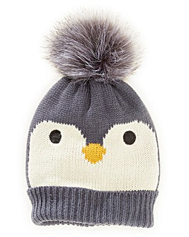 Penguin Christmas Bobble Hat