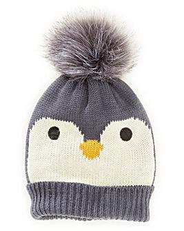 Penguin Christmas Bobble Hat