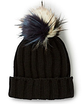 Interchangable Pom Pom Hat