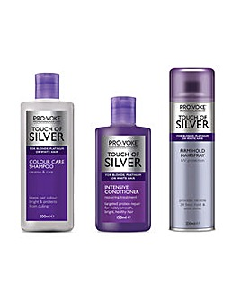Touch of Silver 3pc Hair Treatment Set