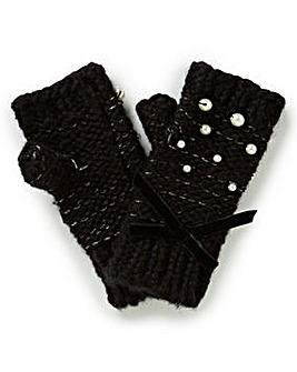 Pearl Detail Gloves