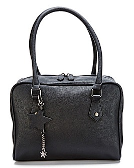 Black Lola Bowler Bag