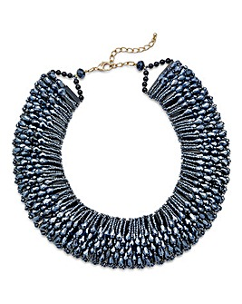 Statement Beaded Necklace