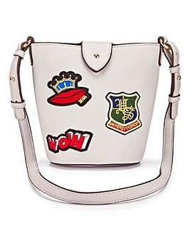 Badge Bucket Bag