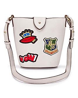 Badge Bucket Bag
