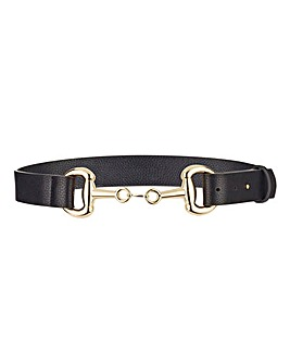 Snaffle Detail Waist Belt