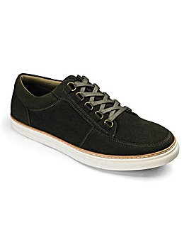 Lace Up Casual Shoe Standard Fit