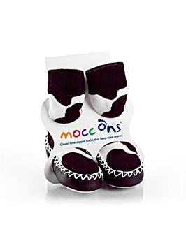 Mocc Ons - Cow Print