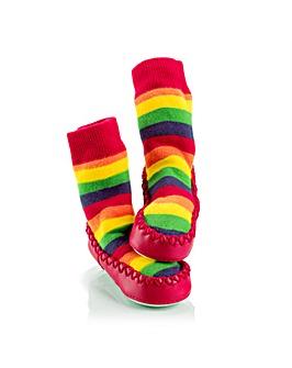 Mocc Ons - Rainbow Stripes