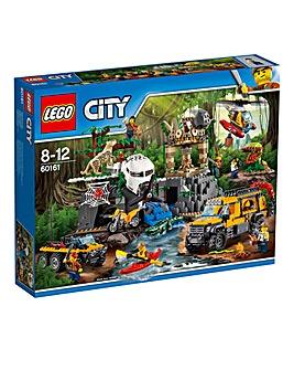 LEGO City Jungle Exploration Site