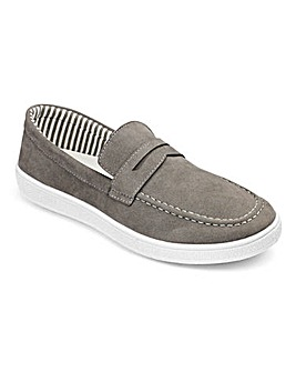 Casual Slip On Saddle Loafer