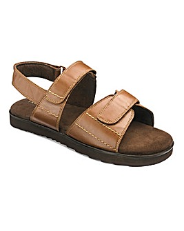 Flex Touch & Close Sandal Ex Wide Fit