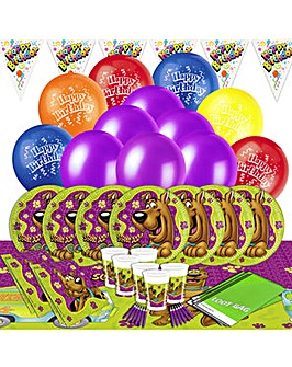 Scooby Doo Ultimate Party Kit for 16