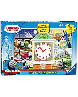 Thomas & Friends Clock Puzzle 60 Piece
