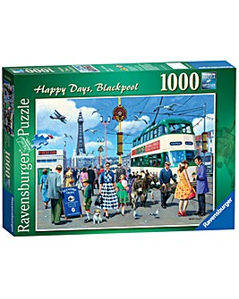 Happy Days Blackpool Jigsaw 1000 Piece