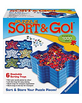 Jigsaw Puzzle Sorting Trays