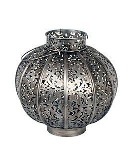 La Hacienda Large Moroccan Globe Lantern