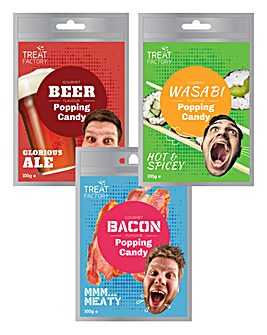 Popping Candy Bacon + Beer + Wasabi