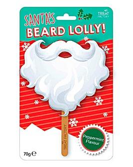 Santa Beard Lolly