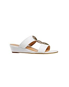 Van Dal Epsom  Bright White Sandal
