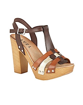 Ravel Berwick ladies heeled sandals