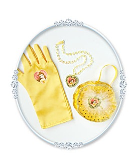 Girls Disney Belle Glove & Acces Box Set