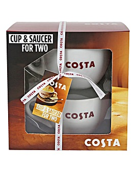 Costa Cup & Saucer Duo