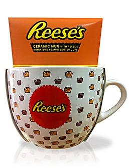 Reeses Ceramic Mug w Peanut Butter Cups