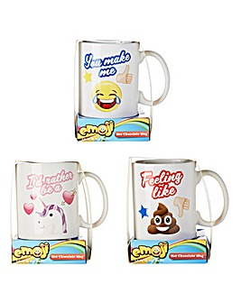 Emoji Mug & Hot Chocolate