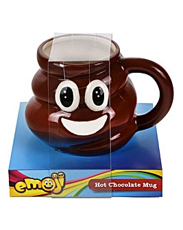 Emoji Poo Shaped Mug