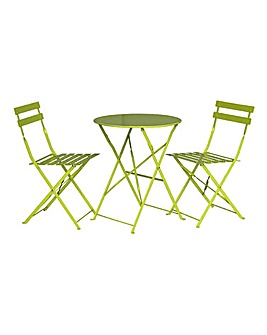 Brighton Metal Bistro Set