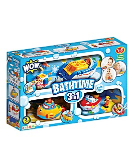 Bathtime Triple Pack