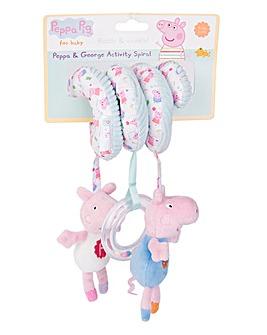 Peppa Pig Baby Activity Spiral