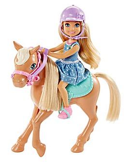 Barbie Club Chelsea Dolls & Horse