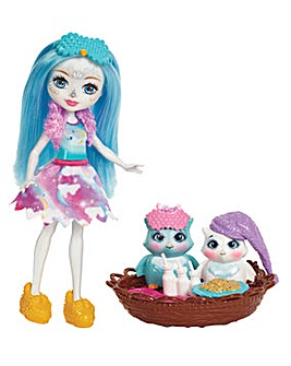 Enchantimals Doll Owl Sleepover