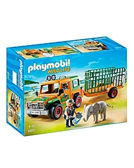 Playmobil African Wildlife Rangers Truck