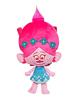 Trolls Poppy Head Plush Backpack
