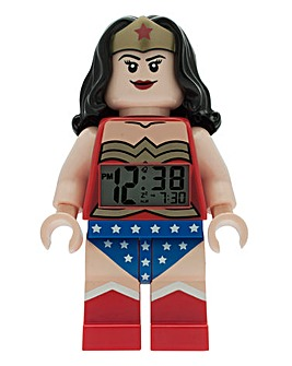 LEGO DC Universe Wonder Woman Clock