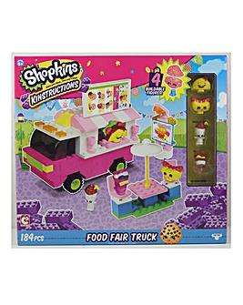 Shopkins Kinstructions Food Fair Truck
